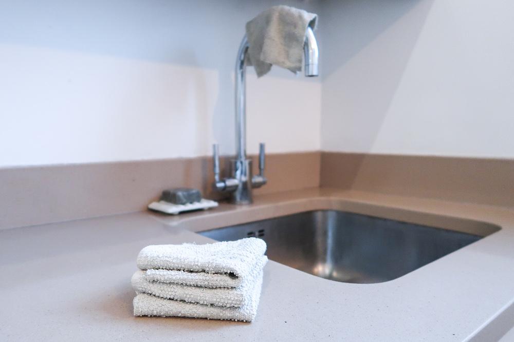 DIY washcloth dish cloth sponge