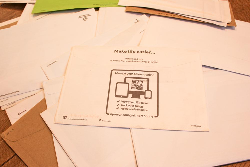 paperless mail plastic free
