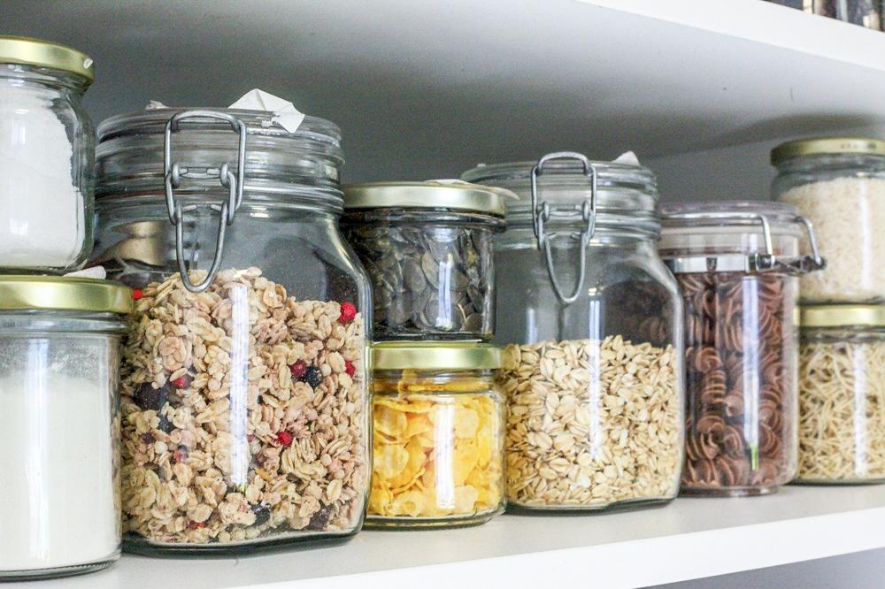 jars as a plastic wrap alternative