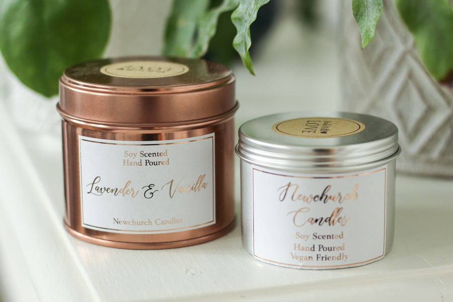 plastic free candles