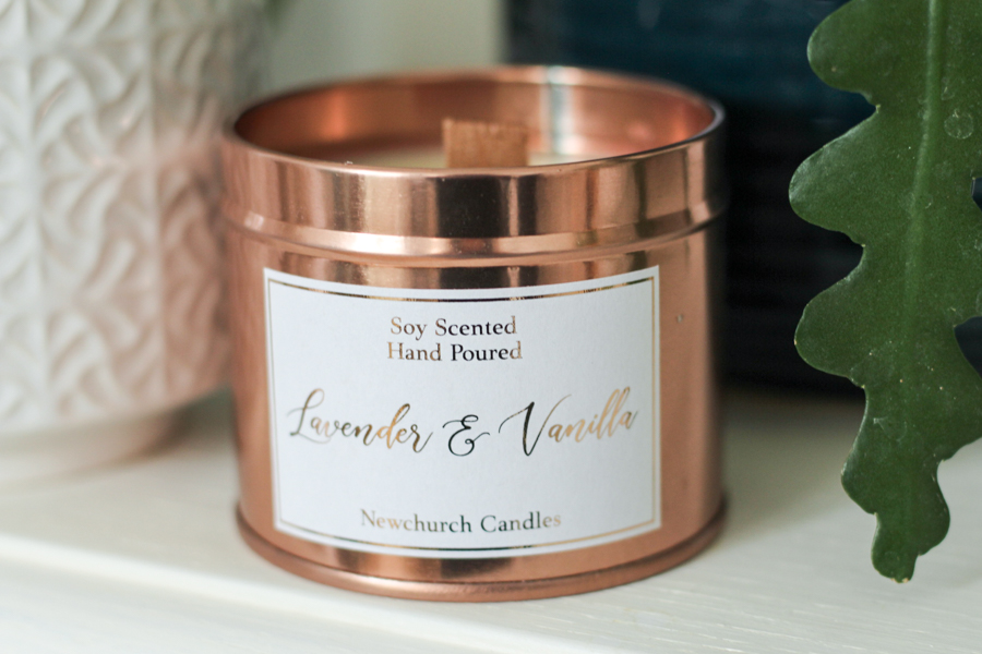plastic free candles by Newchurch