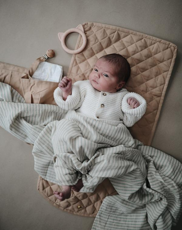 Plastic free baby changing pad