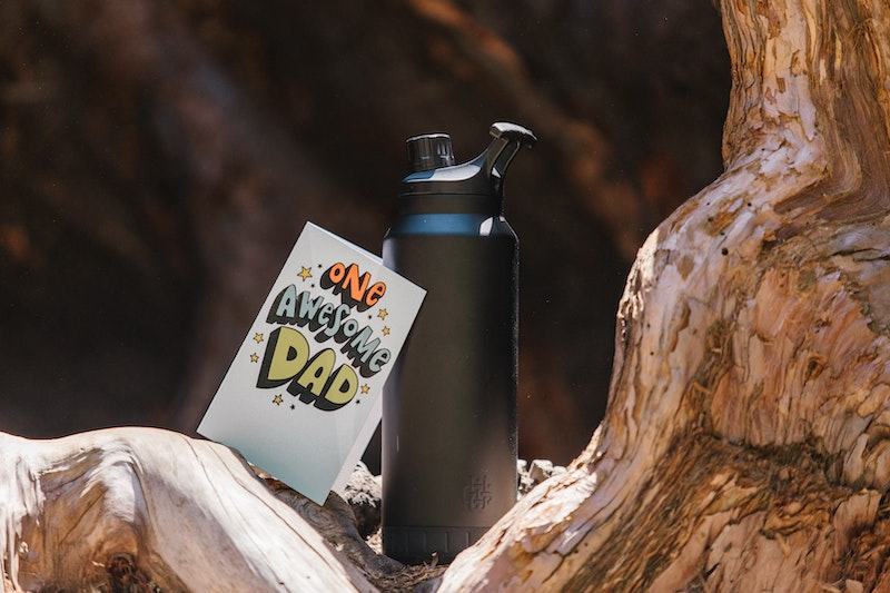 Green gifts for dad water bottle