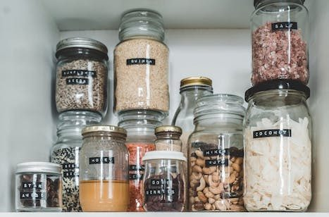 how to remove labels from jars