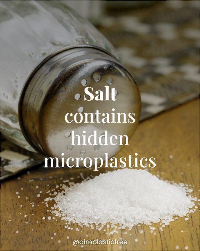 salt contains hidden microplastic