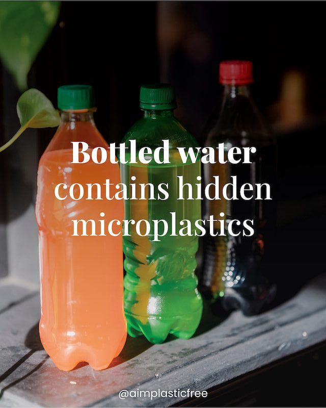 Bottled water contains hidden microplastic