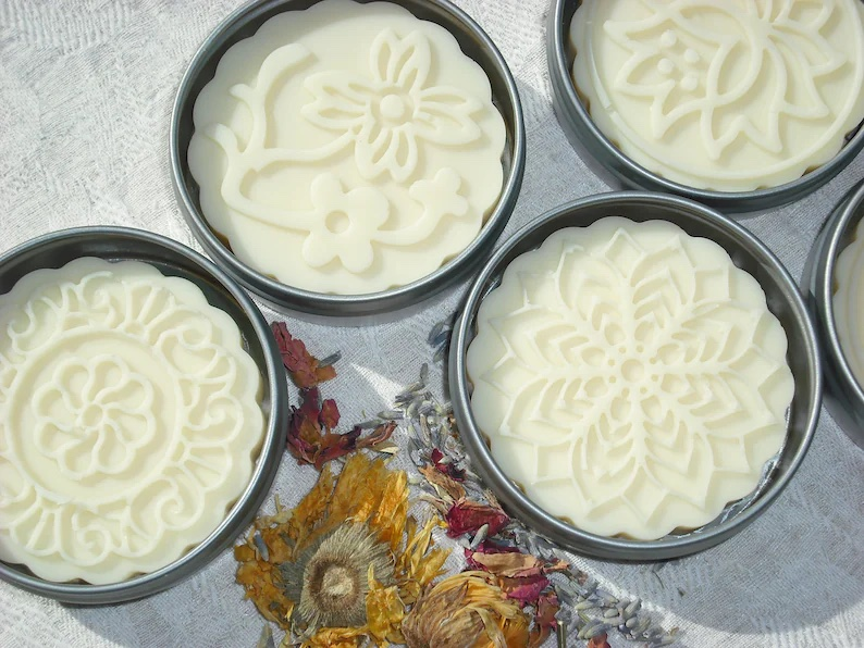 Etsy solid lotion bar